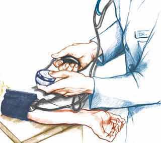 Hipertensión arterial. Imagenes relacionadas con la hipertensión arterial.